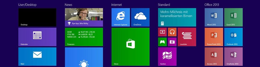 Windows 8.1 und Office 2013